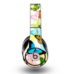 The Colorful Vector Butterflies Skin for the Original Beats by Dre Studio Headphones