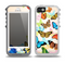 The Colorful Vector Butterflies Skin for the iPhone 5-5s OtterBox Preserver WaterProof Case