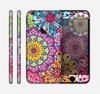 The Colorful Vector Flower Collage Skin for the Apple iPhone 6