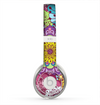 The Colorful Vector Flower Collage Skin for the Beats by Dre Solo 2 Headphones