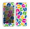 The Colorful Vector Footprints Skin for the Apple iPhone 5c
