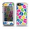 The Colorful Vector Footprints Skin for the iPhone 5-5s OtterBox Preserver WaterProof Case