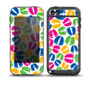 The Colorful Vector Footprints Skin for the iPod Touch 5th Generation frē LifeProof Case