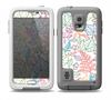 The Colorful Vector Leaves Skin Samsung Galaxy S5 frē LifeProof Case