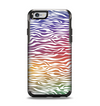The Colorful Vector Zebra Animal Print Apple iPhone 6 Otterbox Symmetry Case Skin Set