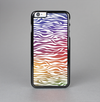 The Colorful Vector Zebra Animal Print Skin-Sert Case for the Apple iPhone 6 Plus