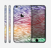 The Colorful Vector Zebra Animal Print Skin for the Apple iPhone 6