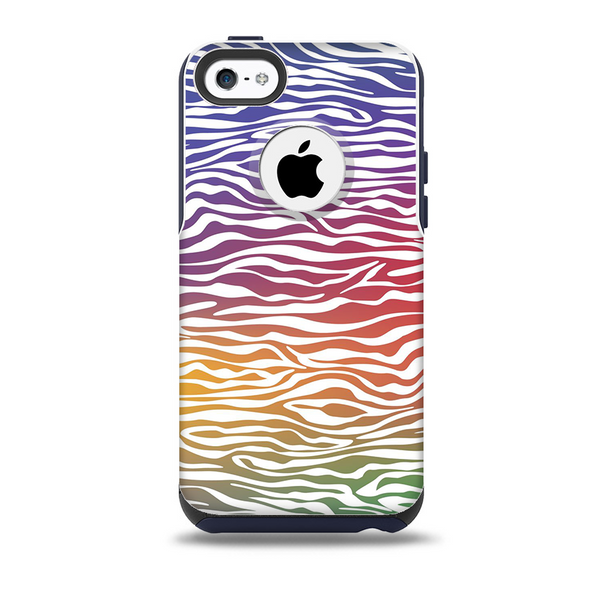 The Colorful Vector Zebra Animal Print Skin for the iPhone ...