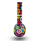 The Colorful Vibrant Hexagons Skin for the Beats by Dre Original Solo-Solo HD Headphones