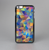 The Colorful Vibrant Triangle Connect Pattern Skin-Sert Case for the Apple iPhone 6 Plus