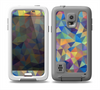 The Colorful Vibrant Triangle Connect Pattern Skin Samsung Galaxy S5 frē LifeProof Case