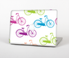 The Colorful Vintage Bike on White Pattern Skin for the Apple MacBook Pro 13""