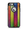 The Colorful Vivid Wood Planks Apple iPhone 6 Otterbox Defender Case Skin Set