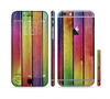 The Colorful Vivid Wood Planks Sectioned Skin Series for the Apple iPhone 6 Plus