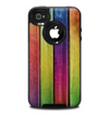 The Colorful Vivid Wood Planks Skin for the iPhone 4-4s OtterBox Commuter Case