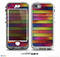 The Colorful Vivid Wood Planks Skin for the iPhone 5-5s NUUD LifeProof Case for the LifeProof Skin