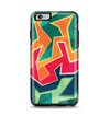 The Colorful WIld Abstract Color Pattern Apple iPhone 6 Plus Otterbox Symmetry Case Skin Set