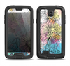 The Colorful WaterColor Floral Samsung Galaxy S4 LifeProof Nuud Case Skin Set