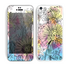 The Colorful WaterColor Floral Skin for the Apple iPhone 5c