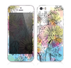 The Colorful WaterColor Floral Skin for the Apple iPhone 5s