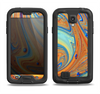 The Colorful Wet Paint Mixture Samsung Galaxy S4 LifeProof Nuud Case Skin Set