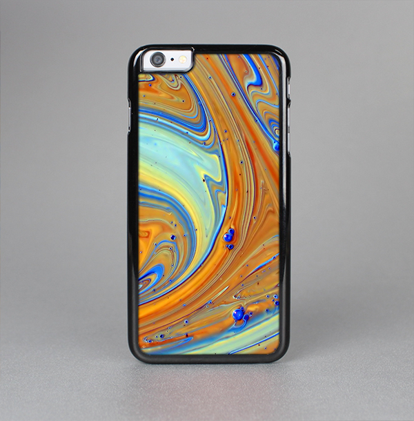 The Colorful Wet Paint Mixture Skin-Sert Case for the Apple iPhone 6 Plus
