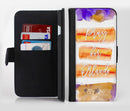 Pray For Orlando V10 Ink-Fuzed Leather Folding Wallet Credit-Card Case for the Apple iPhone 6/6s, 6/6s Plus, 5/5s and 5c