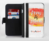 Pray For Orlando V2 Ink-Fuzed Leather Folding Wallet Credit-Card Case for the Apple iPhone 6/6s, 6/6s Plus, 5/5s and 5c