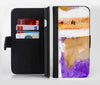 Pray For Orlando V4 Ink-Fuzed Leather Folding Wallet Credit-Card Case for the Apple iPhone 6/6s, 6/6s Plus, 5/5s and 5c