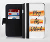 Pray For Orlando V8 Ink-Fuzed Leather Folding Wallet Credit-Card Case for the Apple iPhone 6/6s, 6/6s Plus, 5/5s and 5c