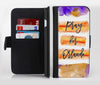 Pray For Orlando V9 Ink-Fuzed Leather Folding Wallet Credit-Card Case for the Apple iPhone 6/6s, 6/6s Plus, 5/5s and 5c