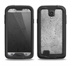 The Concrete Grunge Texture Samsung Galaxy S4 LifeProof Nuud Case Skin Set