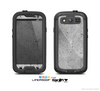 The Concrete Grunge Texture Skin For The Samsung Galaxy S3 LifeProof Case