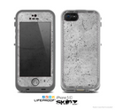 The Concrete Grunge Texture Skin for the Apple iPhone 5c LifeProof Case