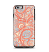 The Coral Abstract Pattern V34 Apple iPhone 6 Plus Otterbox Symmetry Case Skin Set