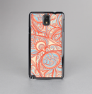 The Coral Abstract Pattern V34 Skin-Sert Case for the Samsung Galaxy Note 3