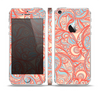 The Coral Abstract Pattern V34 Skin Set for the Apple iPhone 5