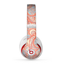 The Coral Abstract Pattern V34 Skin for the Beats by Dre Studio (2013+ Version) Headphones