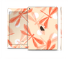 The Coral DragonFly Skin Set for the Apple iPad Pro
