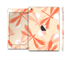 The Coral DragonFly Skin Set for the Apple iPad Mini 4