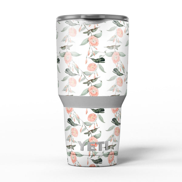 The_Coral_Flower_and_Hummingbird_All_Over_Print_-_Yeti_Rambler_Skin_Kit_-_30oz_-_V5.jpg