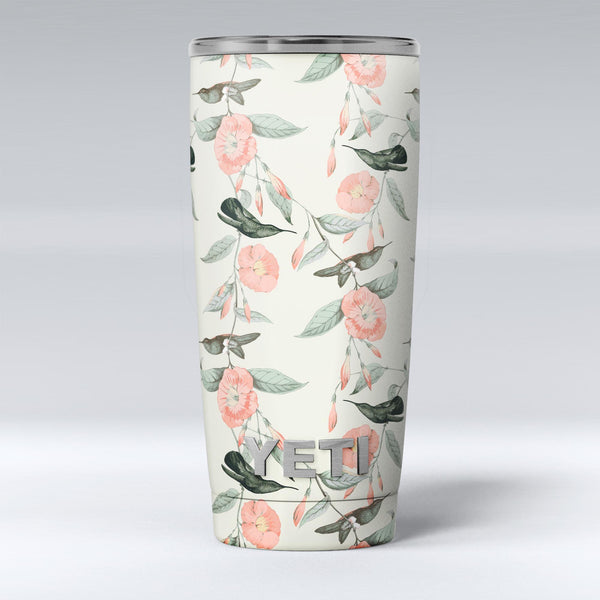 The_Coral_Flower_and_Hummingbird_on_Branches_-_Yeti_Rambler_Skin_Kit_-_20oz_-_V1.jpg