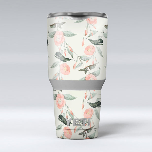 The_Coral_Flower_and_Hummingbird_on_Branches_-_Yeti_Rambler_Skin_Kit_-_30oz_-_V1.jpg
