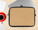 The CorkBoard Ink-Fuzed NeoPrene MacBook Laptop Sleeve