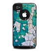 The Cracked Multicolored Paint Skin for the iPhone 4-4s OtterBox Commuter Case