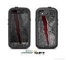 The Cracked Red Core Skin For The Samsung Galaxy S3 LifeProof Case