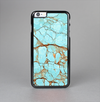 The Cracked Teal Stone Skin-Sert Case for the Apple iPhone 6 Plus