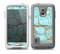 The Cracked Teal Stone Skin for the Samsung Galaxy S5 frē LifeProof Case