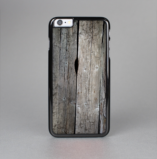The Cracked Wooden Planks Skin-Sert Case for the Apple iPhone 6 Plus
