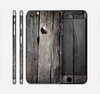 The Cracked Wooden Planks Skin for the Apple iPhone 6 Plus